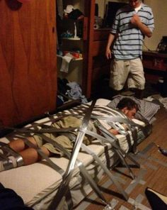 Don't drink and pass out by your friends #pranks #fail