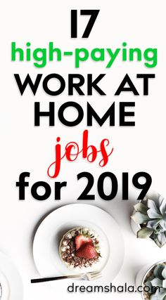 17 high-paying work at home jobs for 2019 - make money online from home Check the list of work from Earn Money From Home, Make Money Fast, Earn Money Online, Make Money Blogging, Online Jobs, Money Saving Tips, Making Money From Home, Work From Home Jobs, Extra Money