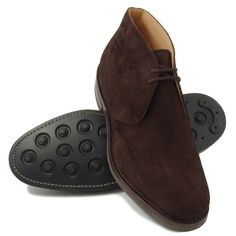 Church's Ryder III Brown Suede Desert Boots as seen in Quantum of Solace Church's Shoes, Sock Shoes, Shoe Boots, Shoes Men, Brown Suede Boots, Brown Shoe, Desert Boots, Leather Chukka Boots, Suede Leather