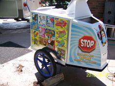 Millers Chillers ice cream bike 4