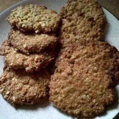 Ginger oaties @ http://allrecipes.co.uk