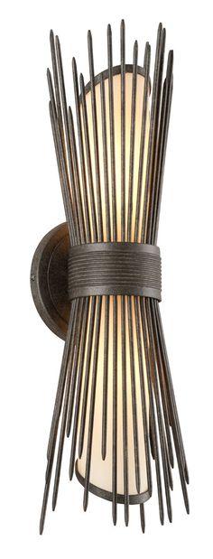 Troy-CSL Lighting B4272 Blink 2 Light 21 inch French Iron Outdoor Wall Lantern