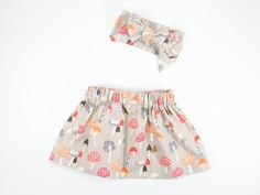 A DIY tutorial for an adorable and simple girls skirt that can be made in any size.