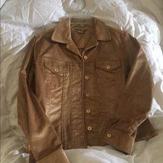 Gold Transistions small/petite jacket Gold light weight corduroy jacket Jackets & Coats Blazers