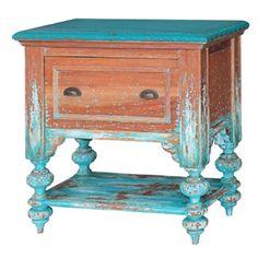 Bramble - Provence End Table in Multi Color - 25670