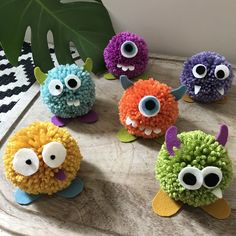 Halloween Arts And Crafts, Halloween Party Decor, Halloween 2020, Halloween Diy, Halloween Party Activities, Halloween Decorations For Kids, Felt Monster, Monster Crafts, Adornos Halloween