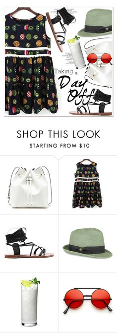 """""""cute print dress"""" by paculi ❤ liked on Polyvore featuring Sole Society, Sunday Afternoons and zaful"""