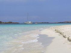 S'Alga beach, Formentera, Spain