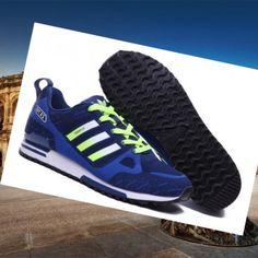 Nike Adidas zx 750 Flyknit uomini blu navy formatori menta: facile piegare, leggero, portabile,, sezione selvatici confortevole
