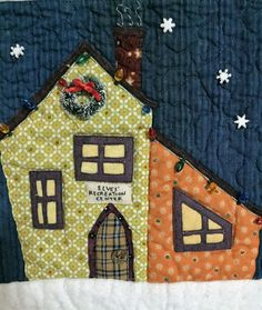 Welcome to the North Pole, Elves' Rec Center Detail (2015) Quilt by Anissa Arnold, Pattern by Piece O'Cake Designs, Quilting by Jackie Arnold