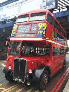 Vintage RT bus on route 100.....
