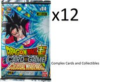 Promo Sealed Pack x1 Dragon Ball Super TCG Power Booster Colossal Warfare