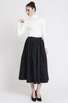 #Vintage'dan vazgeçemiyoruz! Koton - Siyah Midi Etek ---> http://bit.ly/BS-AuVintage | #tbt #brandstore #auvintage