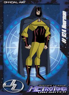 Homem-Hora Membro da Liga da Justiça. Aparece apenas como figurante da Série.