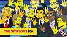 2016 Election - Simpsonized