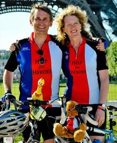 Bryn and Emma Parry, founders of Help for Heroes
