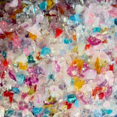 Amazon.com: Custom & Fancy Approx 0.5 Teaspoon of Small Nail Art Glitter Confetti Made of Premium Mylar w/ Bright Fun Rainbow Rock Candy Shapes & Sparkling Chunky Shimmer Dust Mix Design [Pink, Red, Blue & Gold]: Toys & Games