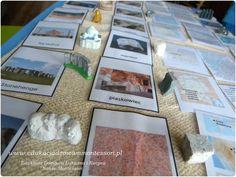 geologia montessori skały
