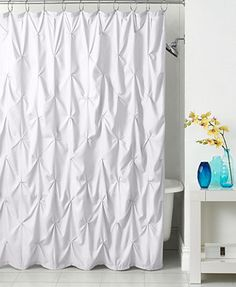 Both practical and stylish, the Pouf Shower Curtain from Park B. Smith features…