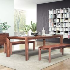 extension dining table chestnut by zuo modern has a rich chestnut