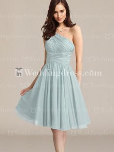 Chiffon Bridesmaid Dresses Short