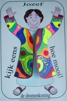 Joseph's coat. #Bible craft
