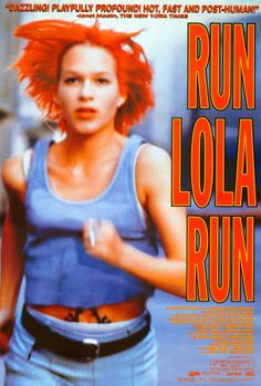 """Run Lola Run"" Starring Franka Potente and Moritz Bleibtreu. Directed by Tom Tykwer. 1998."