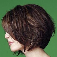 Bob hairstyles can be styled up in many cute and basic ways. Popular bob hairstyles are so versatile that can be worn at any event, from casual everyday. Over 40 Hairstyles, Virtual Hairstyles, Bob Hairstyles, Layered Hairstyles, Hairstyle Men, Casual Hairstyles, Medium Hairstyles, Braided Hairstyles, Wedding Hairstyles