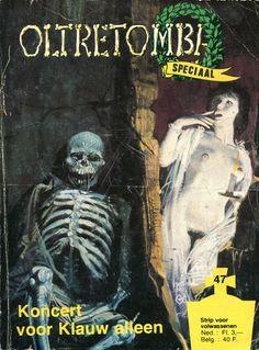 Cover for Oltretomba speciaal (De Vrijbuiter; De Schorpioen, 1973 series) #47