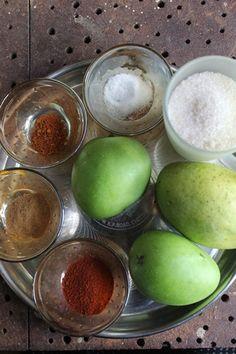 Mango Chunda Recipe / Gujarati Sweet Mango Pickle Recipe - Yummy Tummy