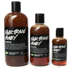 Fair Trade Honey shampoo | Liquid Shampoos | LUSH Cosmetics