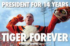Clemson's President Barker!