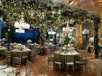 Eventos Com Arte - Assessoria e Decoração: Casamentos 2016 - Tendências - Jardim Aéreo