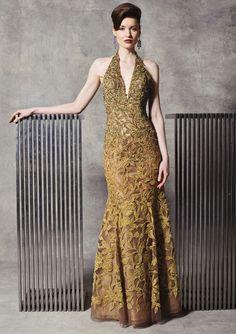 Stephen Yearick Evening Gown 9917
