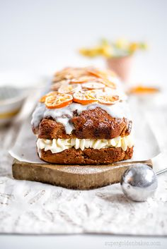 Orange, yoghurt & olive oil cake #TryTotal | supergolden bakes