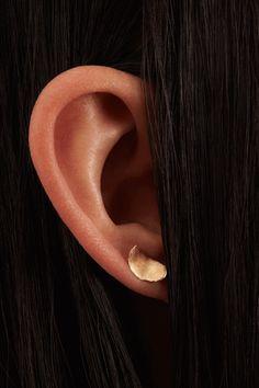 Short Smeared Flake Earrings – WWAKE
