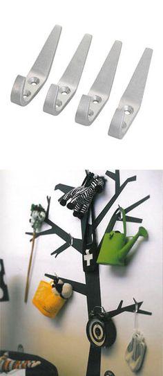 IKEA HACKS - wall tree with VIPPA hooks