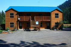 New condo at Wallowa Lake offers 2 of our vacation rentals.  The Bronco is located on the bottom right.