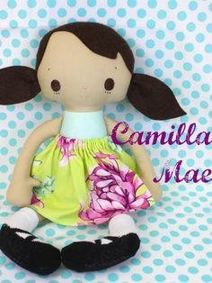 Bit of Whimsy Dolls: 5th Birthday Giveaway Day 4: Camilla Mae