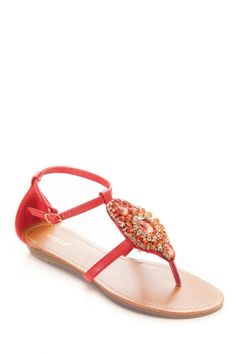 b9be54959556f Bejeweled Thong Sandals   Cicihot Sandals Shoes online store sale Sandals