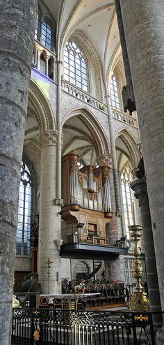 Organ in the Saint Nicolas church of Ghent Belgium Visit Belgium, Ghent Belgium, Luxembourg, Travel Belgium, Cities In Europe, Koh Tao, Beautiful Islands, Scuba Diving, Where To Go