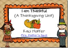 Thanksgiving Unit. CC Aligned, 4 Centers, 4 Games and 4 Charts! $