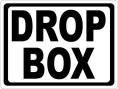 Great deals Drop Box Sign  http://salagraphics.com/products/drop-box-sign?utm_campaign=social_autopilot&utm_source=pin&utm_medium=pin Signs Decal and More at Sala Graphics, Inc.