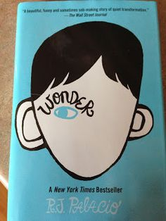 """Blog post about why I chose """"Wonder"""" as our next class read aloud... I read this book because my granddaughter's 4th grade teacher started to read it to the class the last week of school. We just had to finish it...glad we did!"""