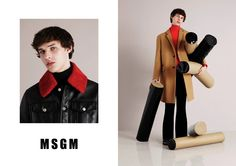 MSGM FW15 Campaign shot by Ben Toms