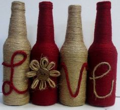 60 DIY Glass Bottle Craft Ideas for a Stylish HomeIn the past, bottles were only pretty and useful when they are of good shape. I recall collecting unique perfume bottles Continue reading Glass Bottle Crafts, Wine Bottle Art, Diy Bottle, Glass Bottles, Bottle Lamps, Beer Bottle, Vodka Bottle, Twine Wrapped Bottles, Twine Wine Bottles