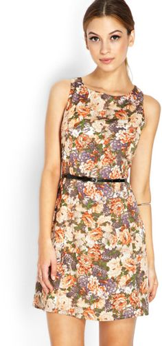 Love this: Classic Floral Aline Dress @Lyst