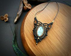 Hey, I found this really awesome Etsy listing at https://www.etsy.com/pt/listing/510818915/larimar-macrame-necklace-bohemian