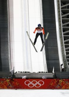 DAY 8:  Maciej Kot of Poland competes during the Ski Jump Men's Large Hill Individual Qualification http://sports.yahoo.com/olympics