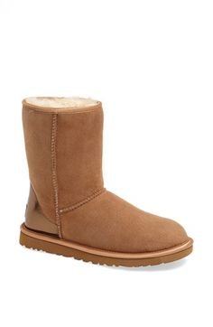 UGG® Australia 'Classic Short' Metallic Patent Boot (Women) available at #Nordstrom
